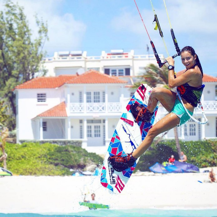 Barbados! LeVin deActionresort beachcultureworldtour Barbados kiteboarding travel action naishkiteboarding