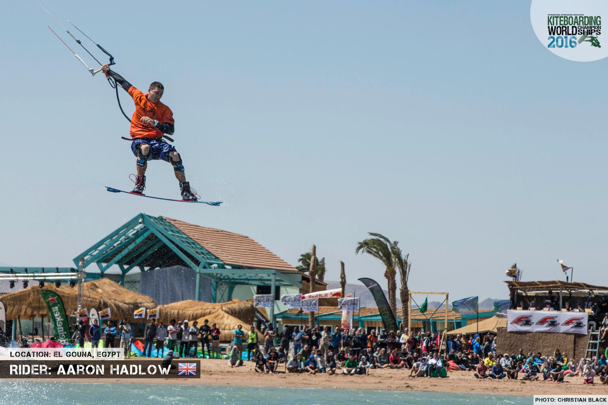 Aaron Hadlow freestyle 2016 El Gouna Grand Slam Day 2