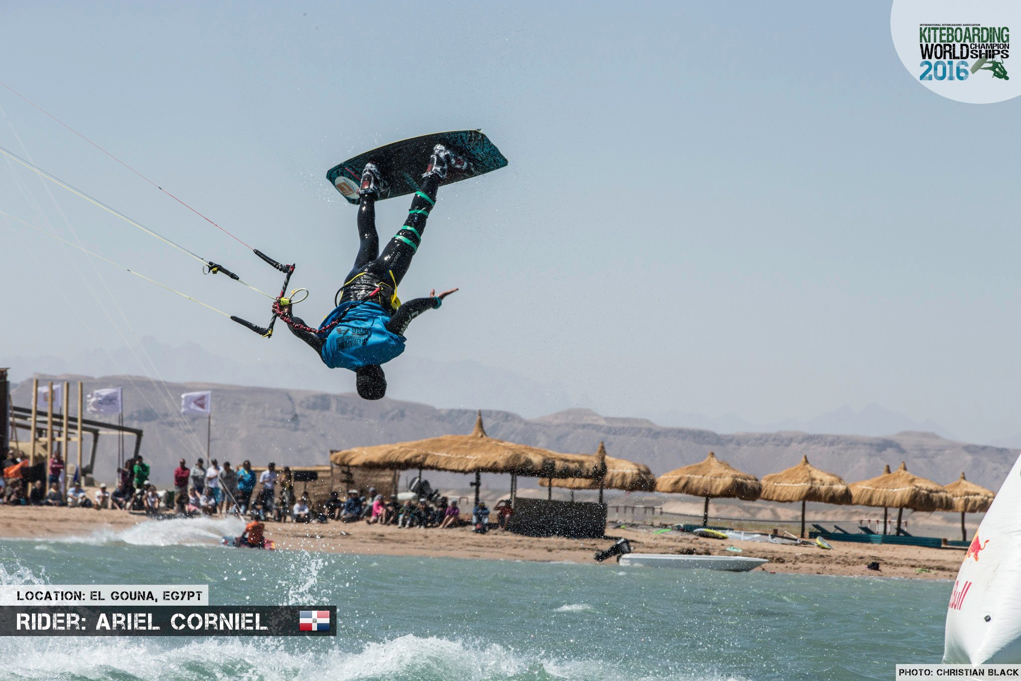 Ariel Corniel freestyle 2016 El Gouna Grand Slam Day 2