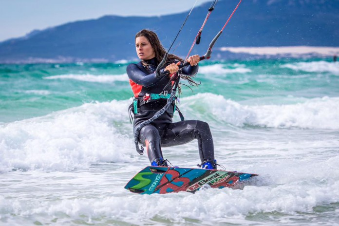 Gisela Pulido Kitesurf kite kiteboarding photo hd board aile