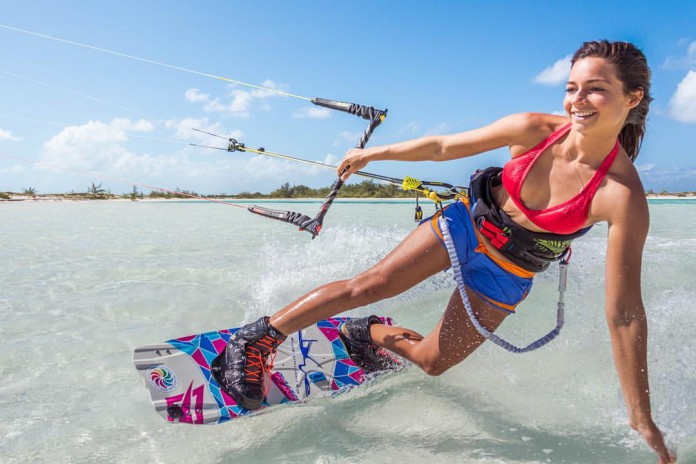 Hope LeVin by Agile LeVin Kitesurf kite kiteboarding photo hd board aile