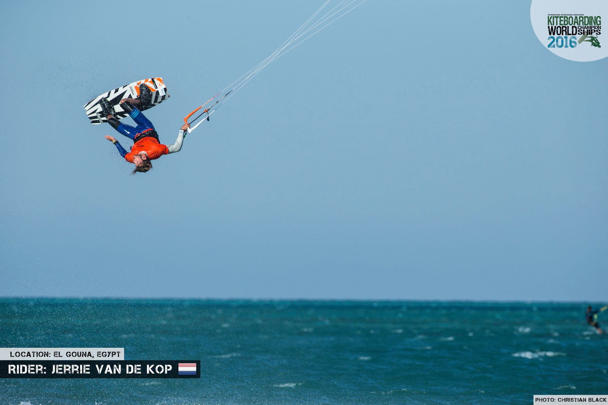 Jerrie Van De Kop freestyle 2016 El Gouna Grand Slam Day 2