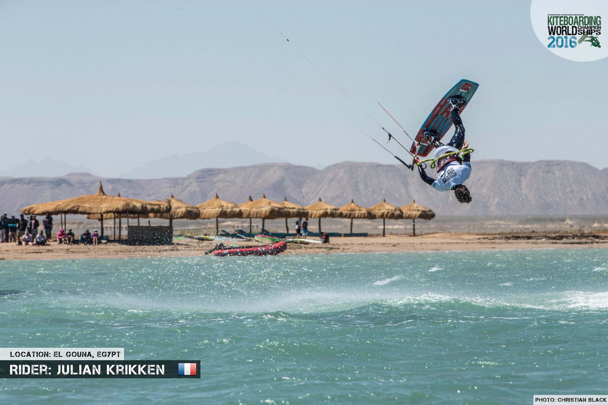 Julian Krikken freestyle 2016 El Gouna Grand Slam Day 2