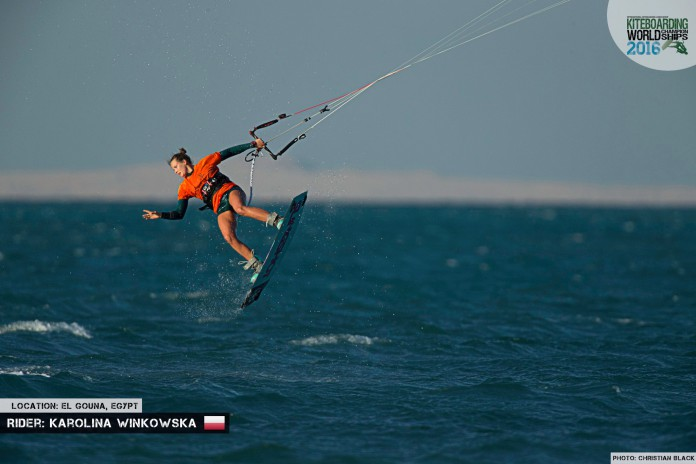 Karolina Winkowska freestyle 2016 El Gouna Grand Slam Day 2