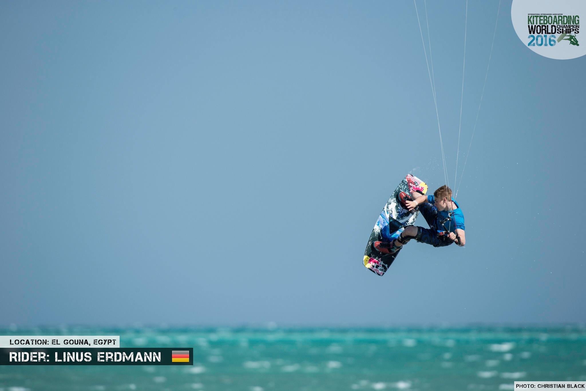 Linus Erdmann freestyle 2016 El Gouna Grand Slam Day 2