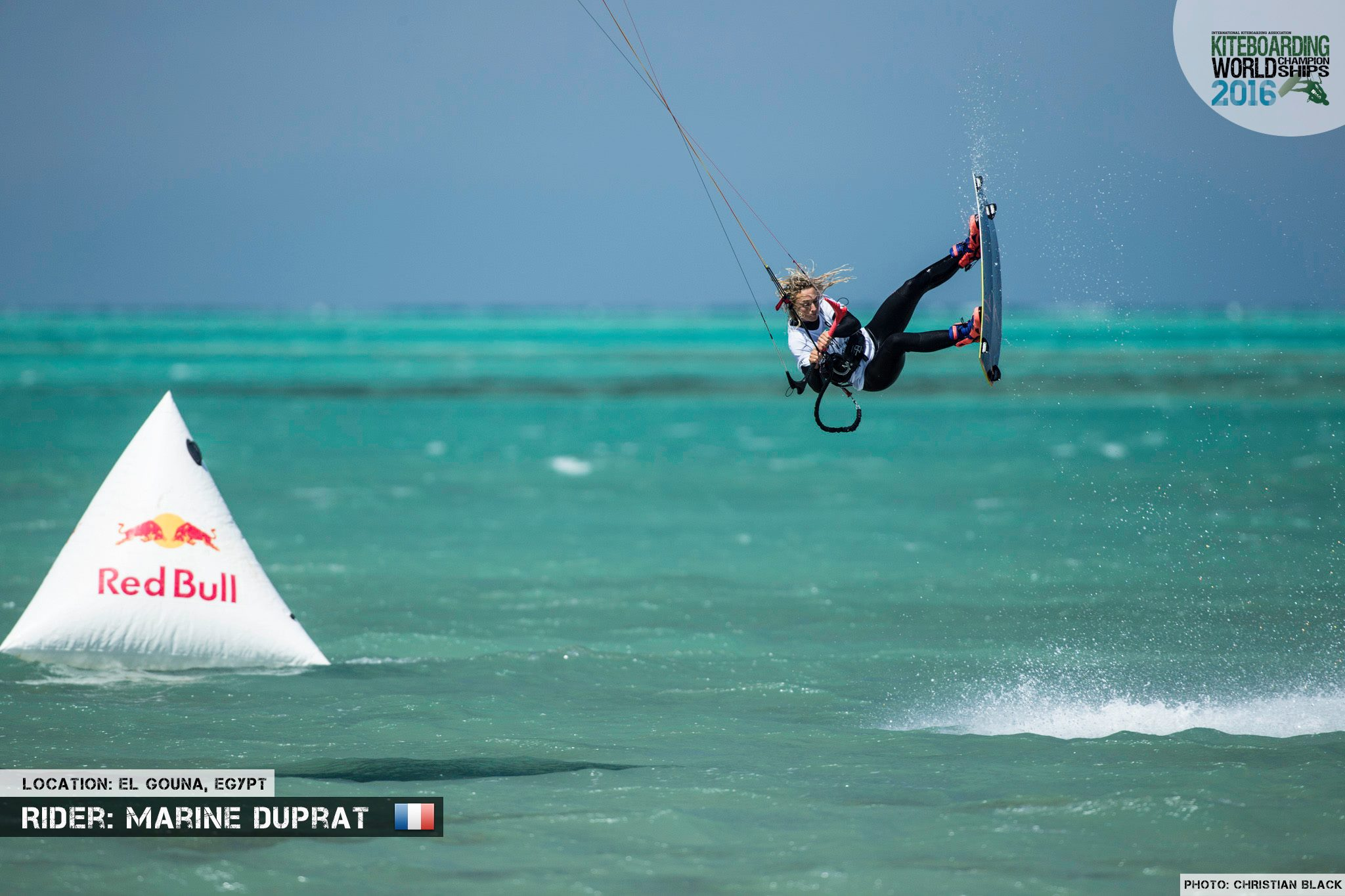 Marine Duprat freestyle 2016 El Gouna Grand Slam Day 2