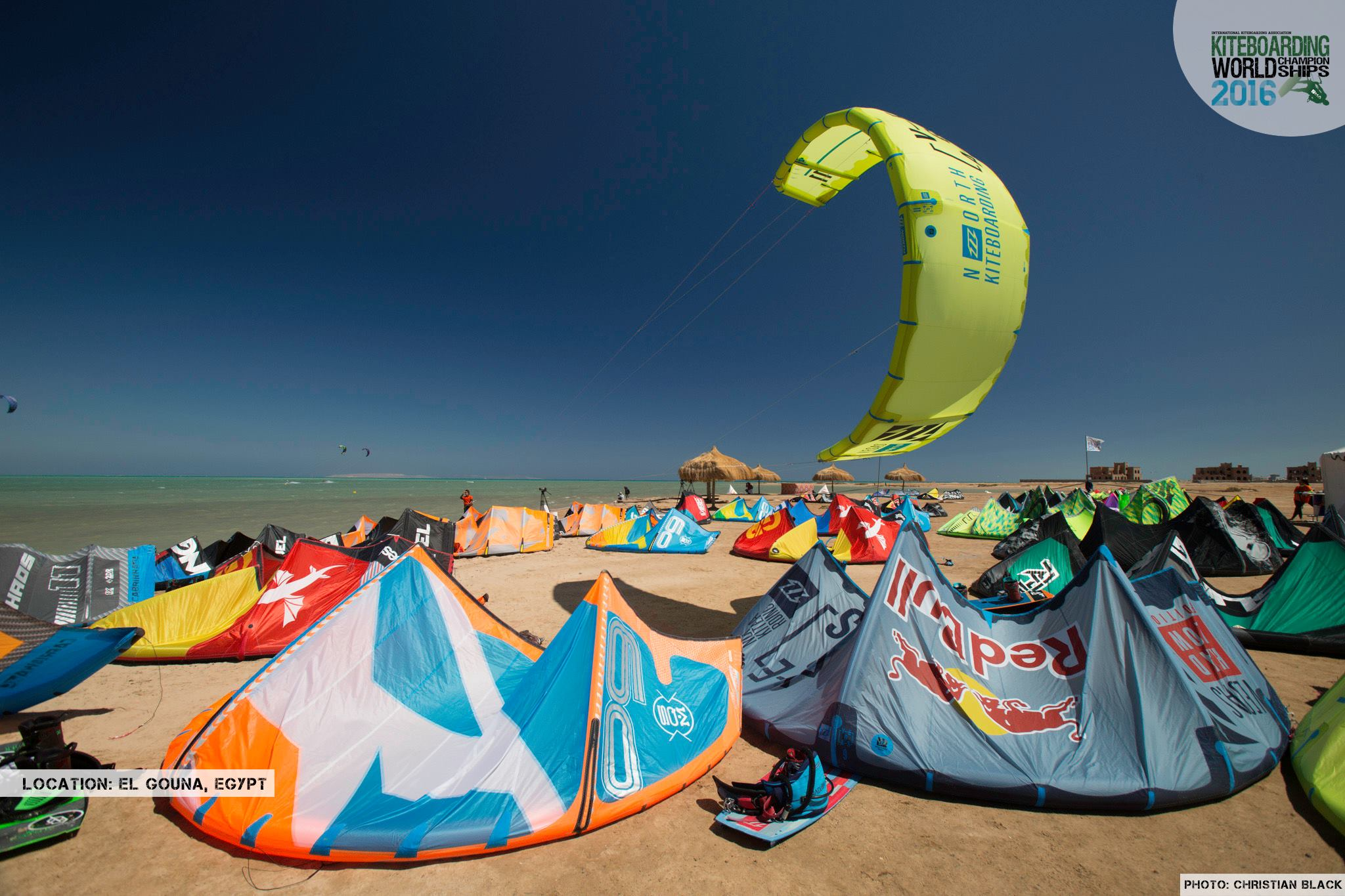 Site evenement kite freestyle 2016 El Gouna Grand Slam Day 2