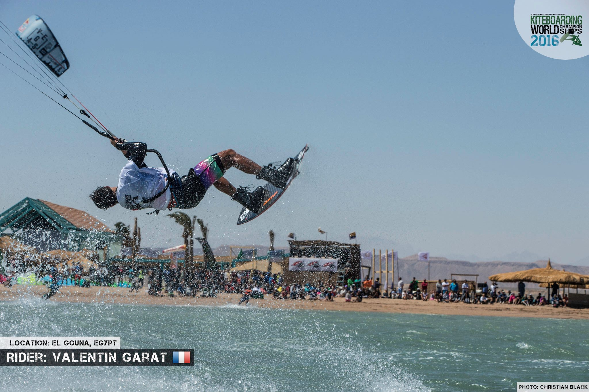 Valentin Garat freestyle 2016 El Gouna Grand Slam Day 2