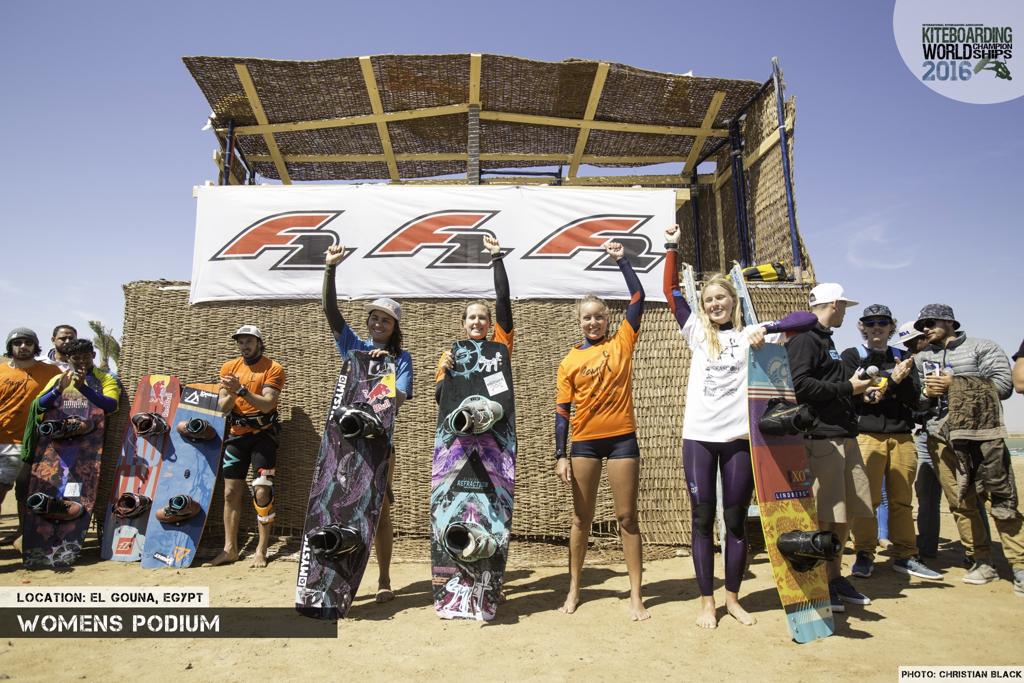 Final Femme freestyle 2016 El Gouna Grand Slam Day 2