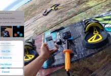 capteur kitesurf Xensr OneTouch Video for GoPro and 3D GPS tracking with the Xensr Air